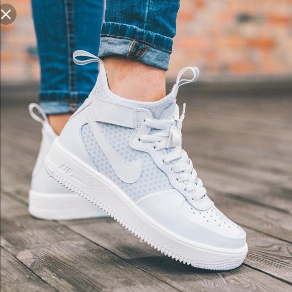 Nike Air Force 1 Ultraforce MID White WMNS NWT